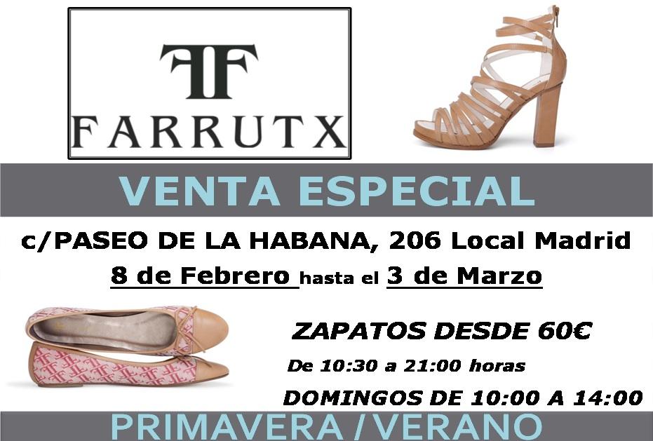 Venta Especial de Farrutx.- Zapatos Primavera Verano 2013