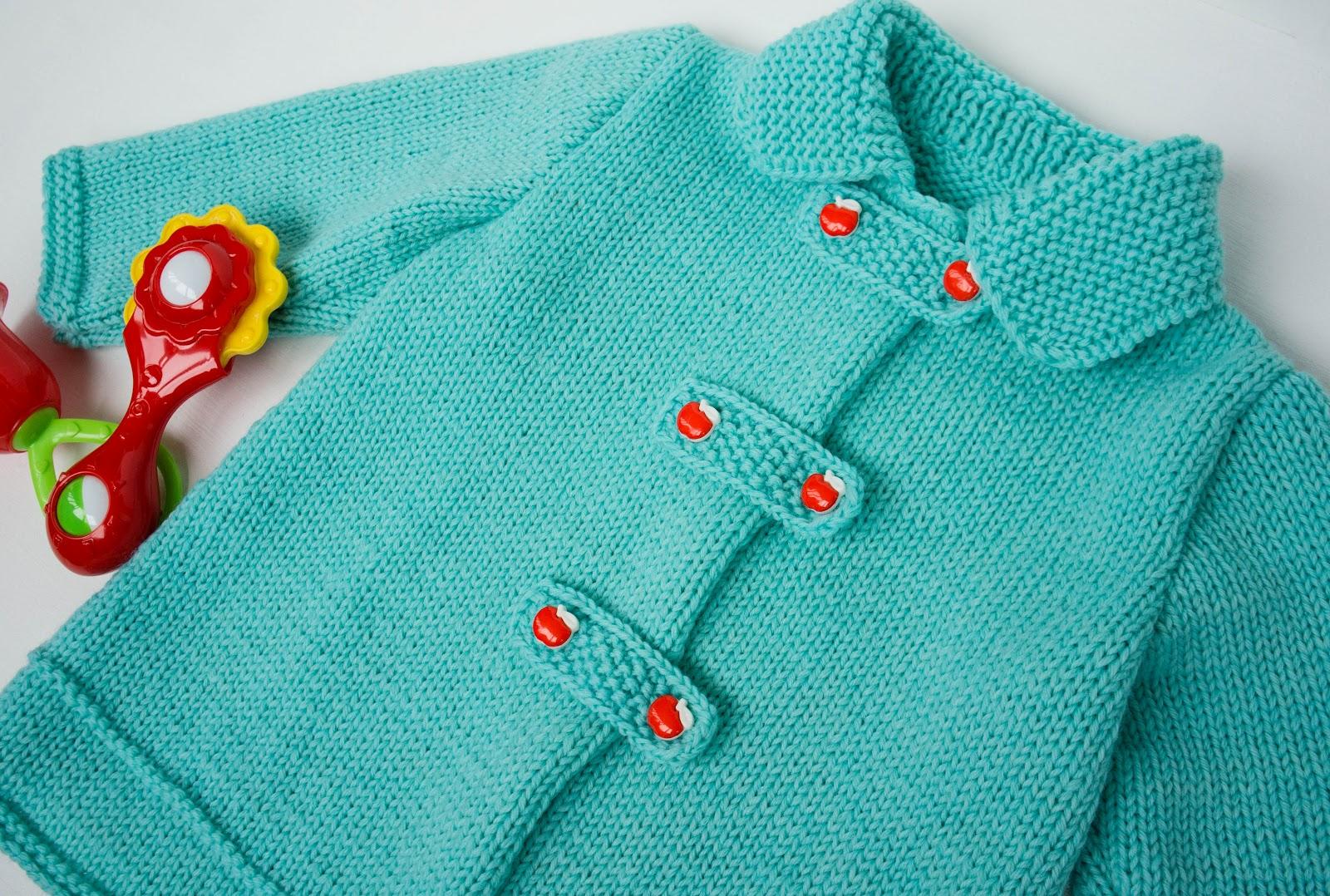 Вязание спицами для детей (от 0 до года, до 3 лет и старше) 46