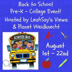 Back to School Event 8/1 - 8/22