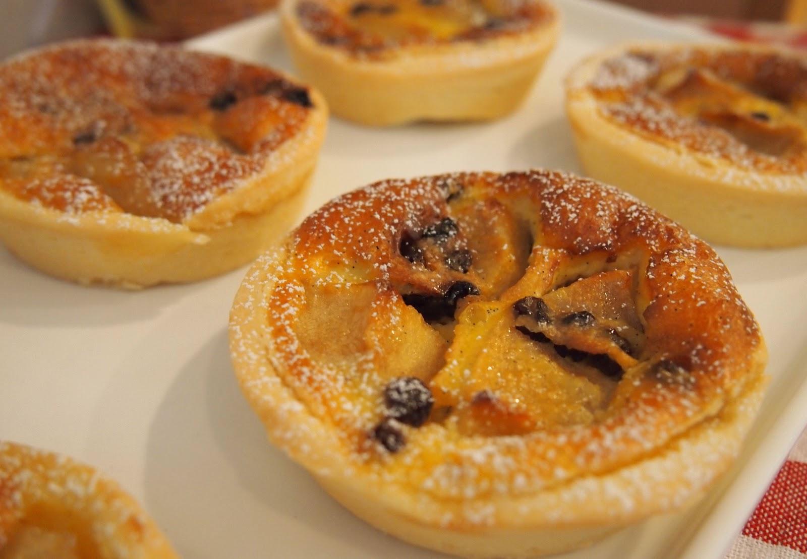 Tokyo Desserts: Baked Mini Custard Apple Tarts