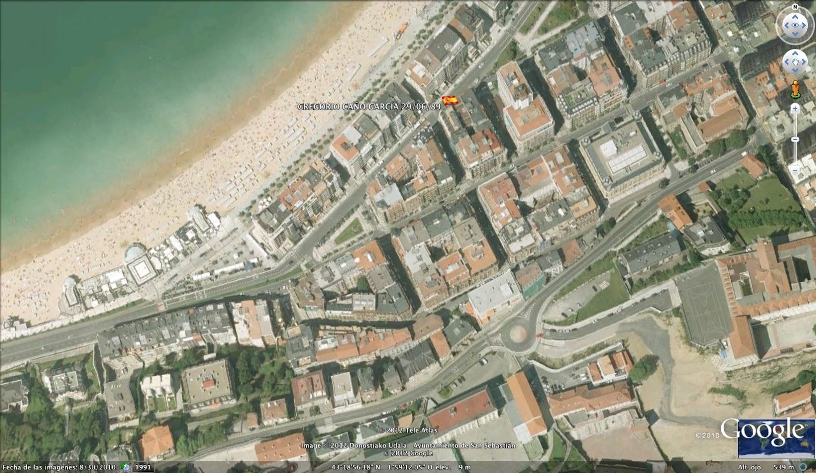 El mapa del olvido el mapa de los asesinatos de eta - El tiempo para manana en san sebastian guipuzcoa ...