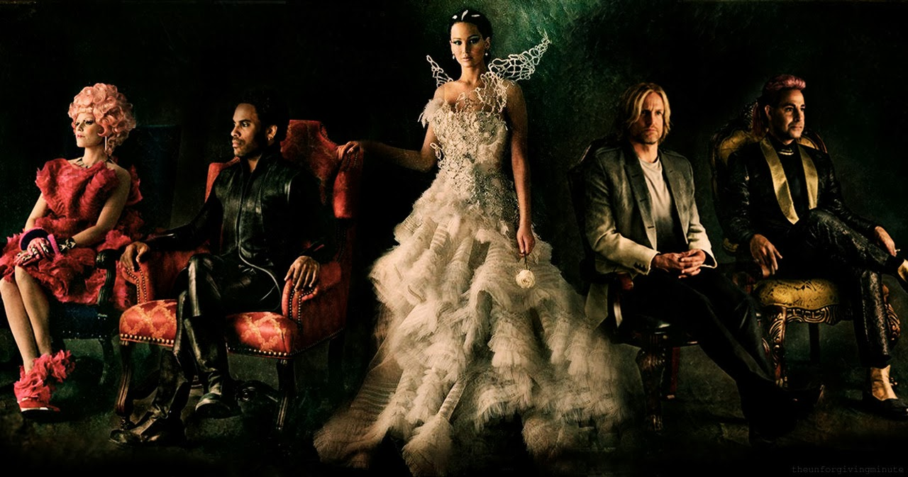 The hunger games catching fire katniss wedding dress designer - The Hunger Games Catching Fire Official Theatrical Trailer 2013 Hd