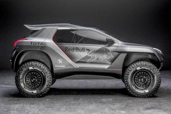New 2014 Peugeot 2008 Dakar Rally Cars