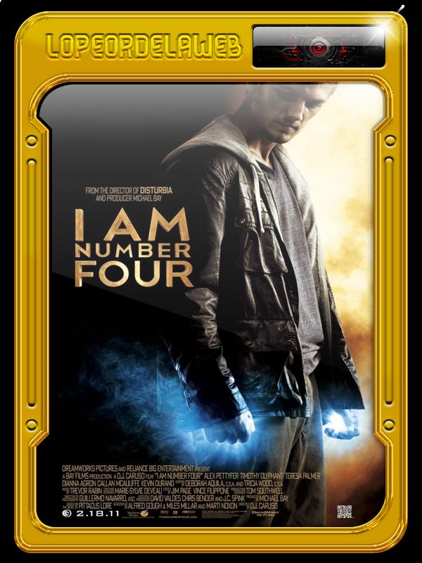 I Am Number Four | Soy el Número Cuatro 720p,Dual,Mega
