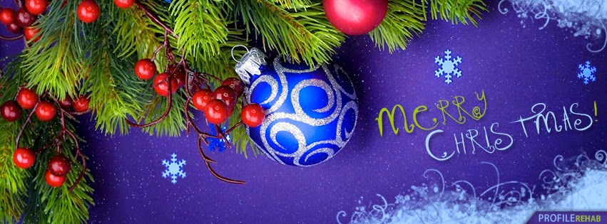 Christmas Three With Purple Bauble Cover Photo