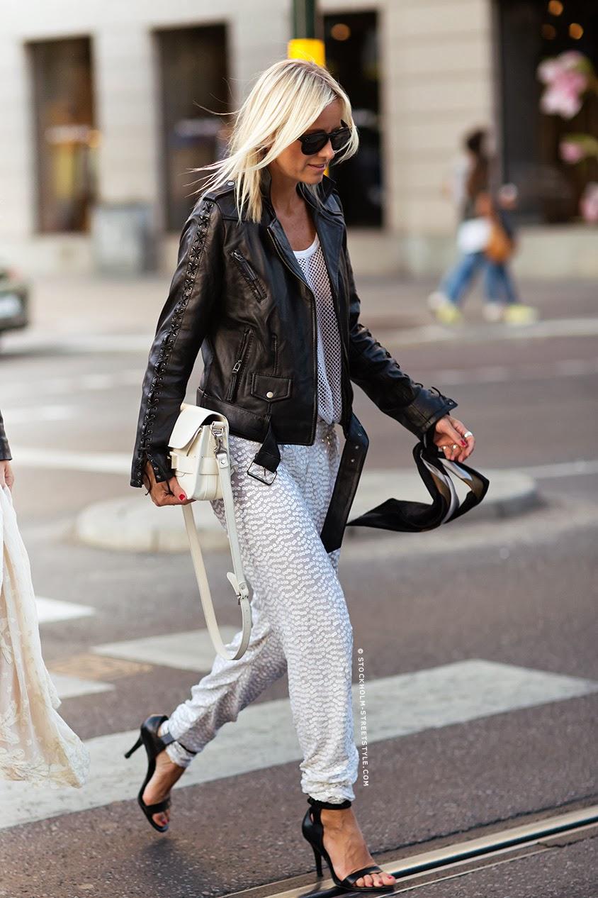 Hippie hippie milkshake celine aagaard a year with Celine fashion street style