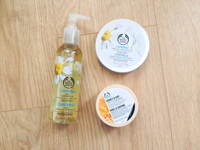 The Body Shop Cleansing Oil Butter