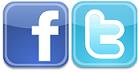 facebook-twitter logo