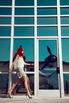 woman in airport, woman walking, fashion shoot, fashion photographer nyc