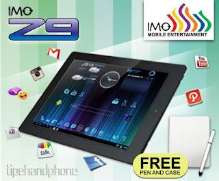 IMO Z9, iPad Android Jelly Bean Layar 9,7 Inci