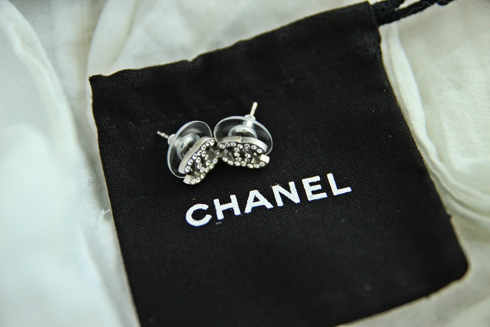 Chanel Double c Stud Earrings Here Chanel Stud Earrings