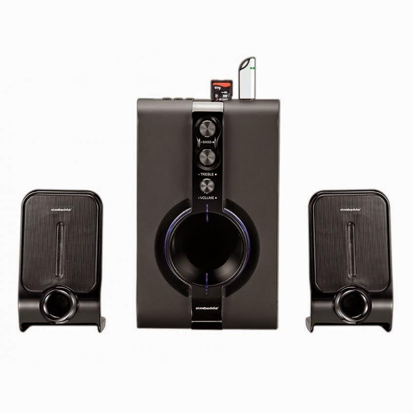 Speaker Aktif Simbadda CST 1800 N,Desain Menawan Bass Mantap