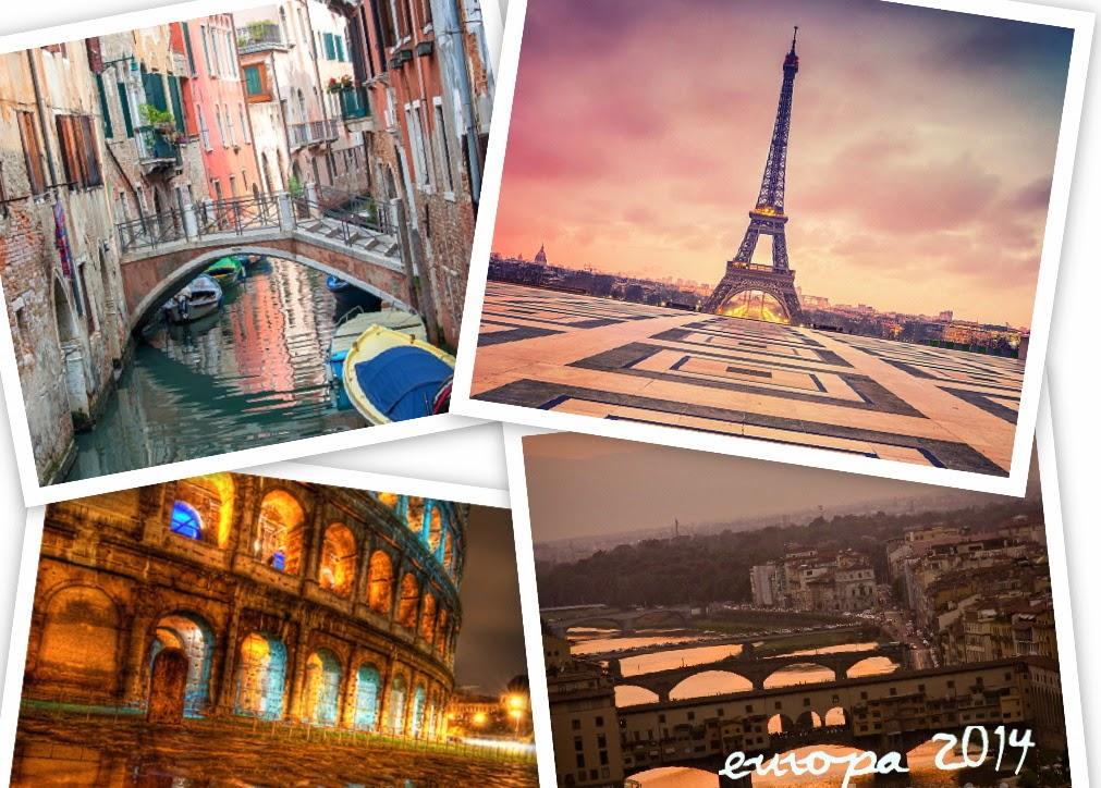 París, Venecia, Florencia y Roma