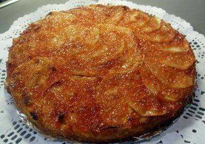 pastel de manzana Aurora