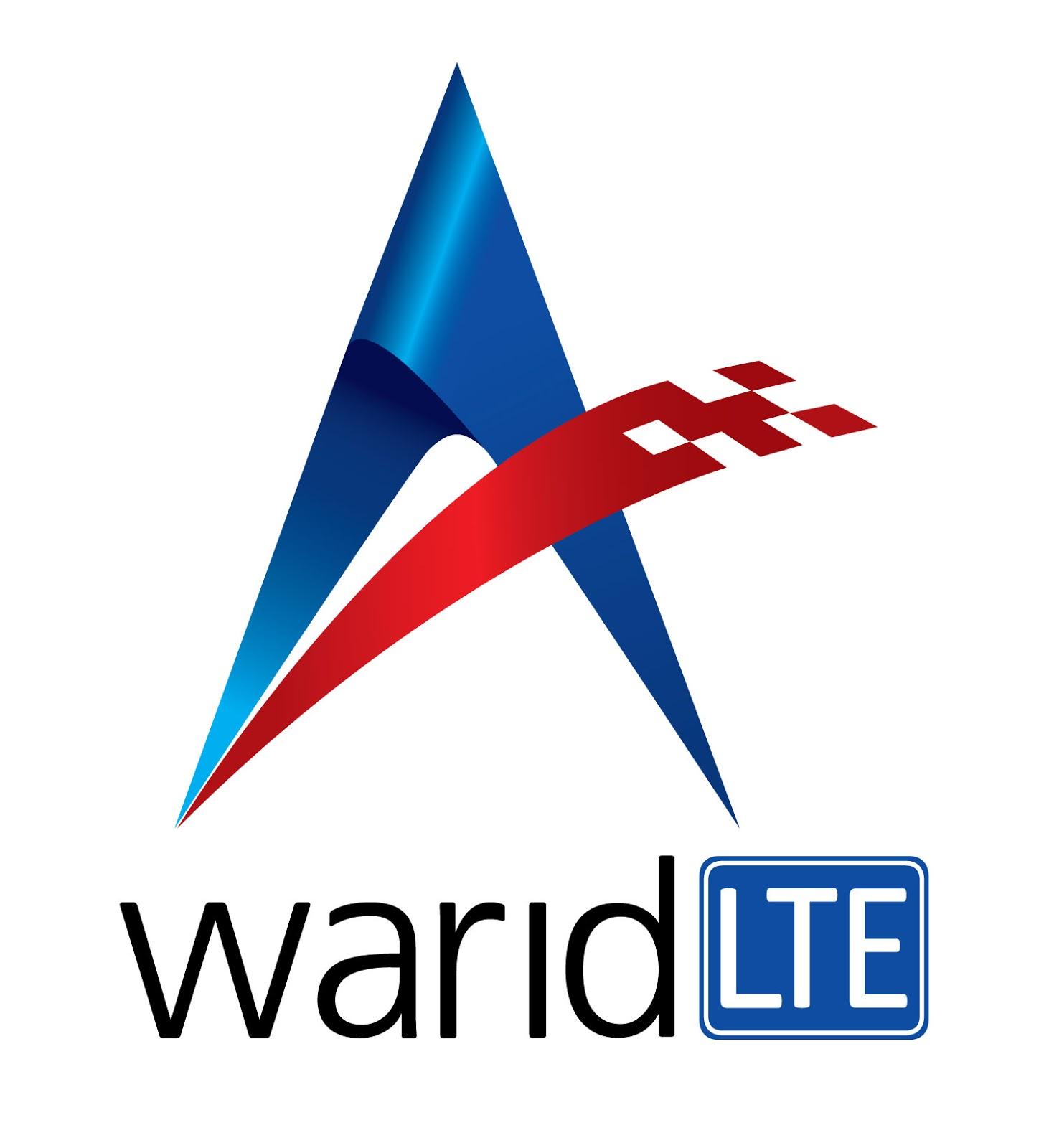 Warid LTE Logo 4 Color