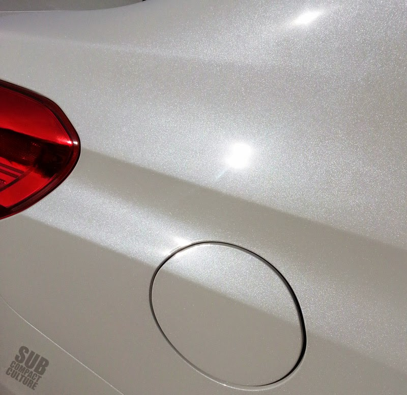 Subaru Crystal White Pearl paint
