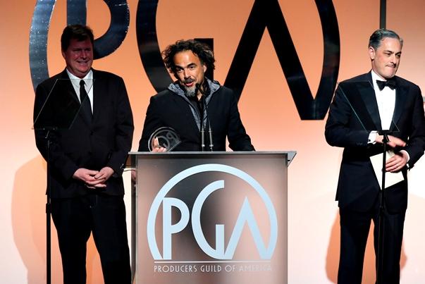 Alejandro González Iñárritu en los PGA