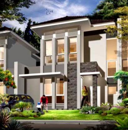 kumpulan gambar rumah minimalis 2 lantai design rumah