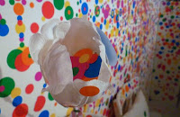Detail from Obliteration Room; photo by Val Phoenix