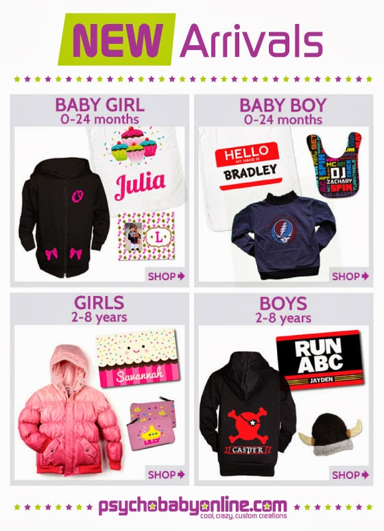 New Arrivals - Cool, Crazy Baby & Kids Clothing and Gifts