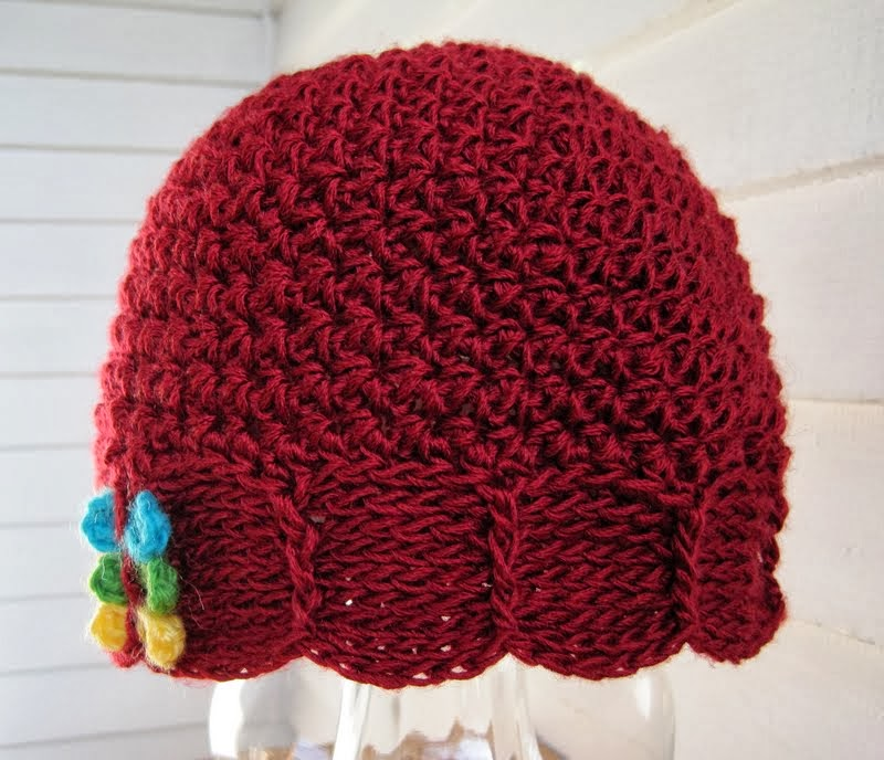 Crochet Tutorial Hat : ... for Happiness: Scalliope Hat ~ a Free Crochet Pattern & Tutorial