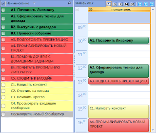 Приложения помогающие планировать день