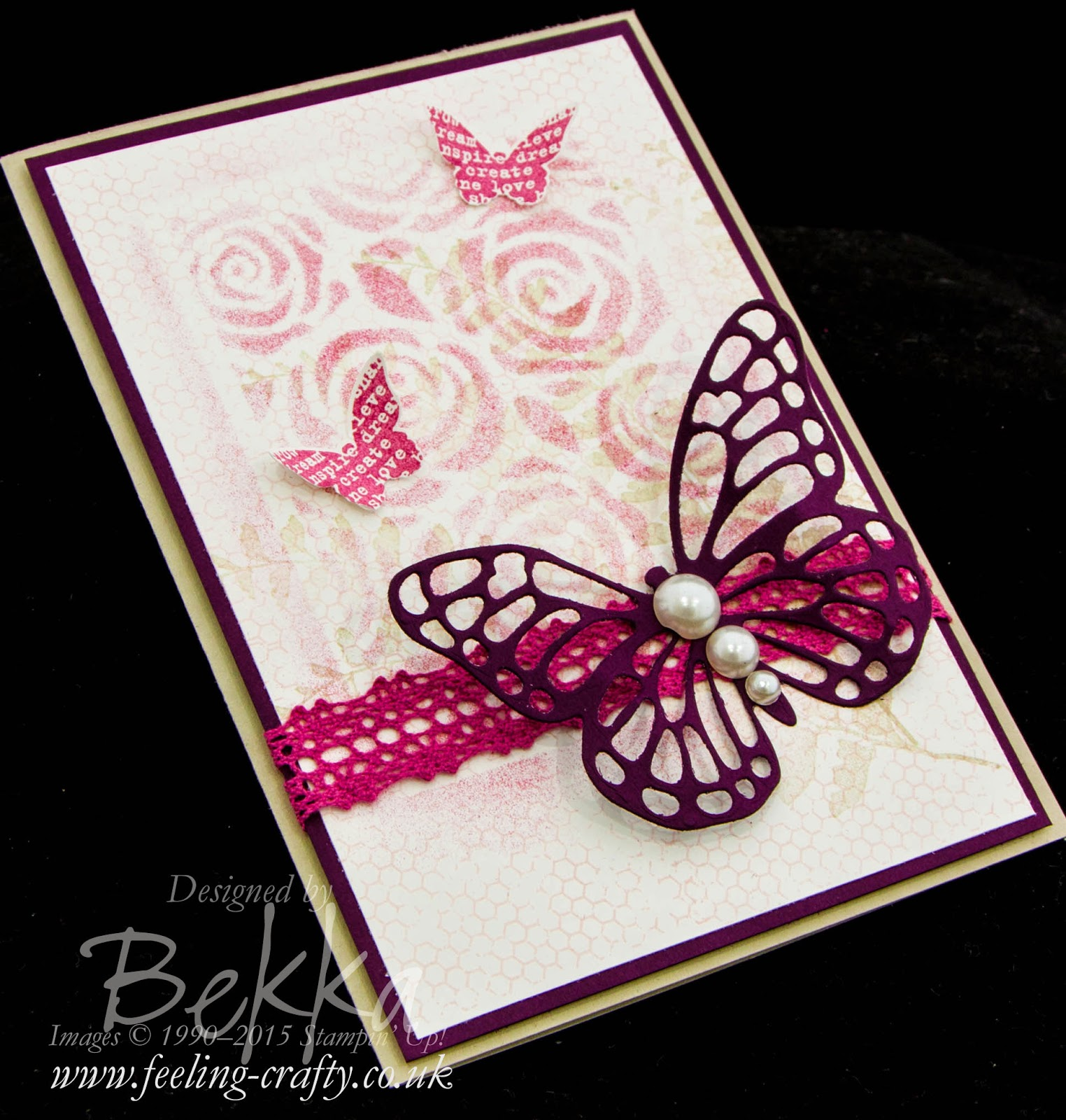 An ideal Mother's Day Card and Gift Bag featuring the Butterfly Basics Stamp Set and Matching Dies - check it out here