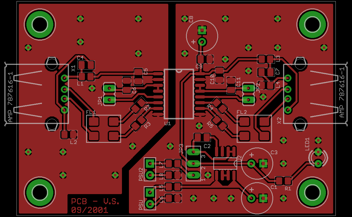 Diy Usb Isolator Made Easy Audio Blog Workshop Circuit Boards With Eagle Make Highquality Pcbs At Low Cost The Project Also Makes Use Of One High Quality Ldo Regulator In This Case Im Using Linear Technologys Lt1763 Fixed Voltage 5v
