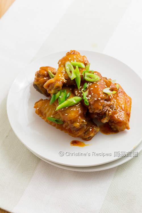 Korean Spicy Chicken Wings01