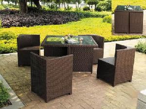 Plastic Rattan Outdoor Furniture Furniture
