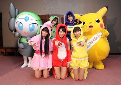Momoiro Clover Z x Pokemon