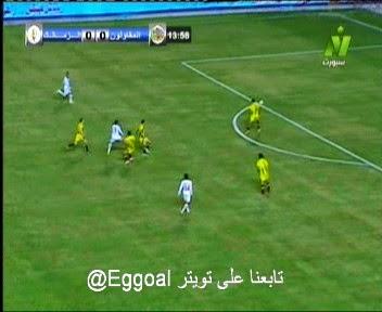 اهداف مباراة الزمالك و المقاولون العرب 1-0  || 7-1-2015  zamalek vs Mokawlon goals