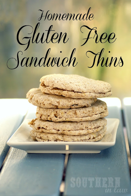 Homemade Gluten Free Sandwich Thins - Flaxseed Sunflower Seed