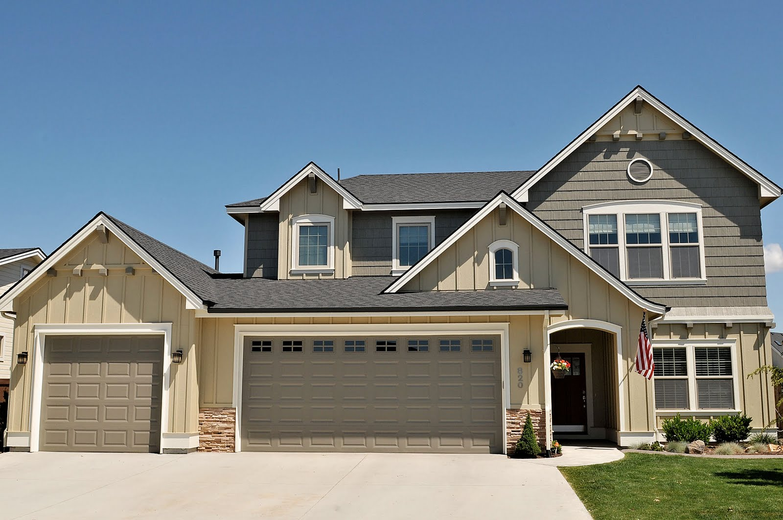 Exterior House Paint Before and After | Boise House Painter