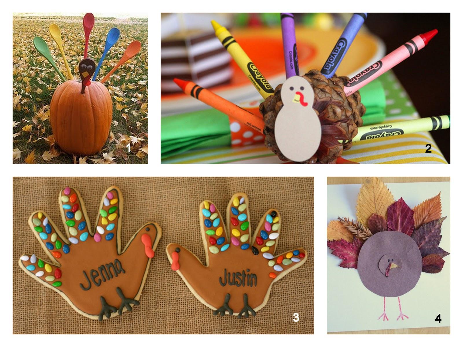 November Craft Ideas For Kids Part - 35: Turkey Crafts For Kids