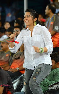 Charmee Kaur  Pictures in Jeans at IPL T20 Cricket Match  0007