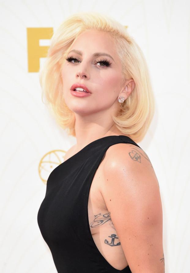 Lady Gaga Emmys 2015