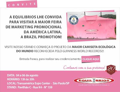 Inscrição Brazil Promotion