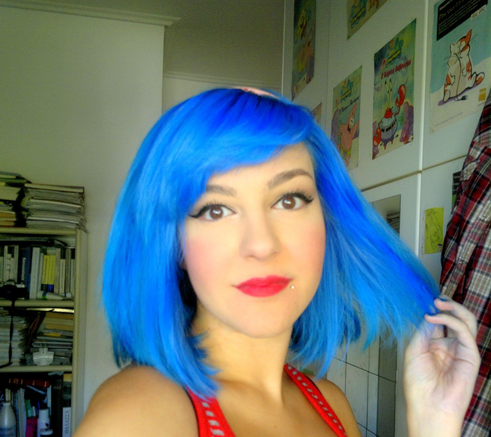Lagoon Blue Hair Bubble My Licorice - Hair colour in blue