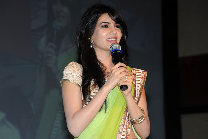 samantha at dookudu successmeet, samantha new cute stills