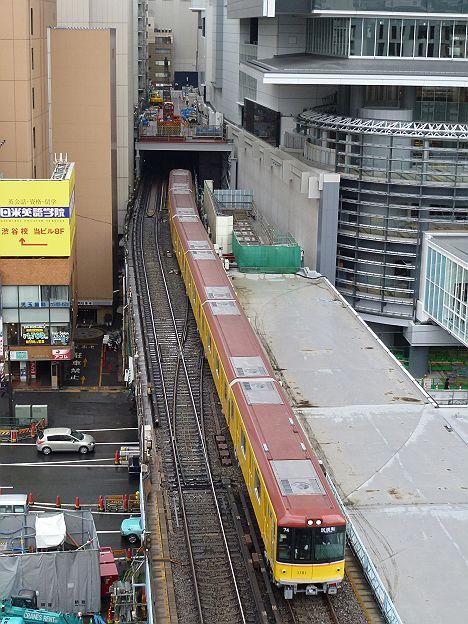 東京メトロ銀座線1000系試運転