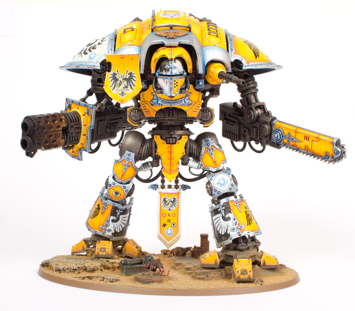 Tales of Painters: Tutorial: How to paint an Imperial Knight of House Hawkshroud