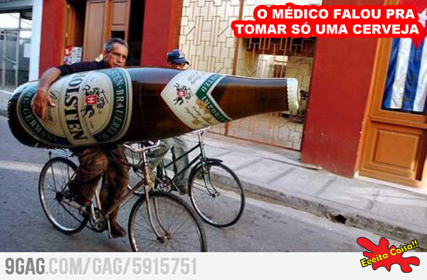 ordens medicas, cerveja, gigante, eeeita coisa