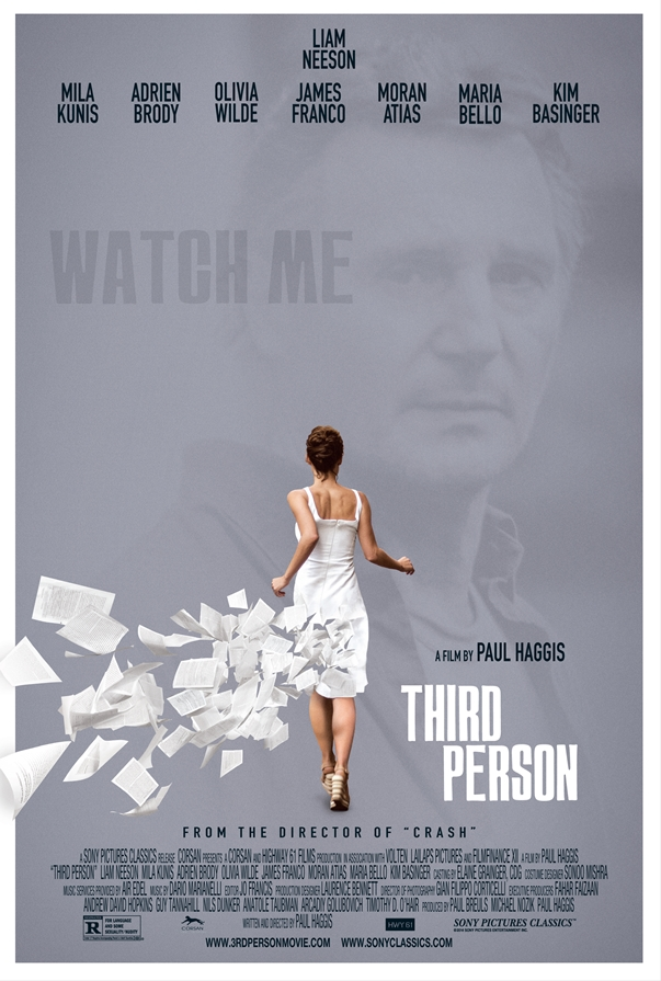 Póster: En tercera persona (Third Person, Paul Haggis, 2013)