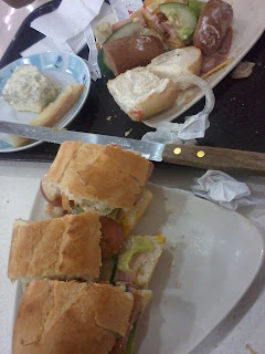 Bavarian Cheese and Italian Garlic Sandwich - Make Your Own Sandwich, Shopwise Cubao