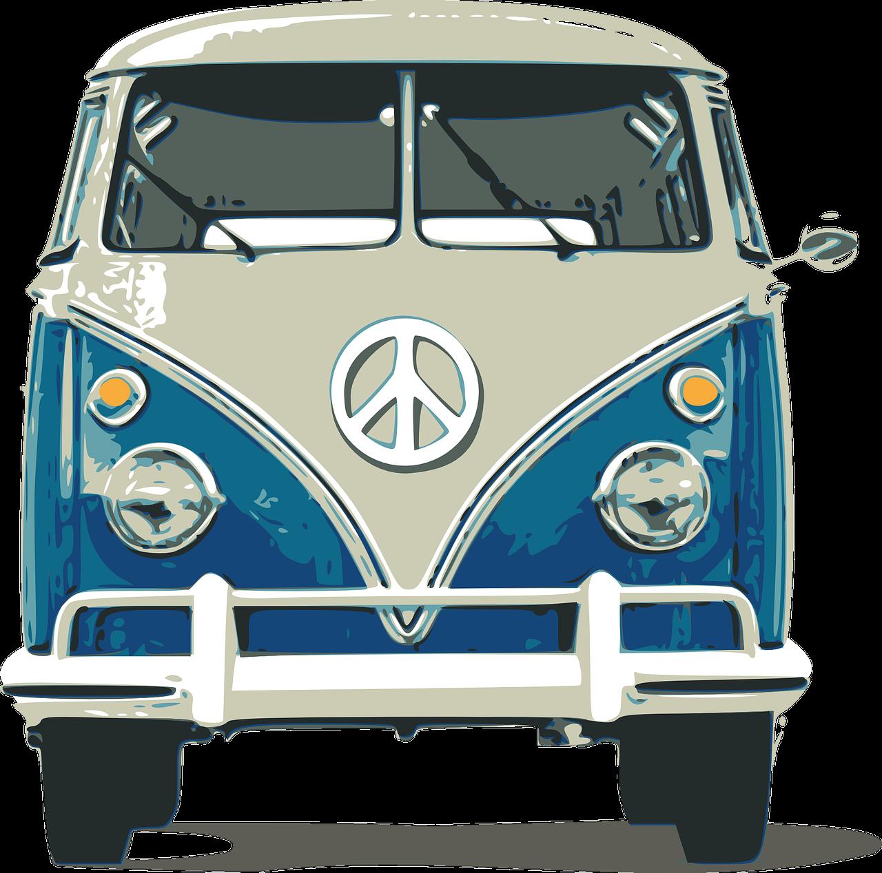 Foto Animasi Mobil Volkswagen Keren