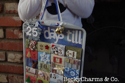Day 1 of 25 Days of Christmas Advent Calendar 2012 by BeckyCharms, Christmas, Advent, Calendar, San Diego, BeckyCharms