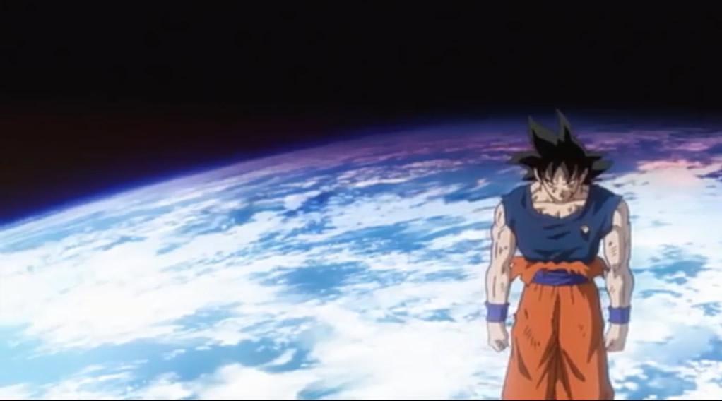 Goku, after distinguishing Bills giant power ball