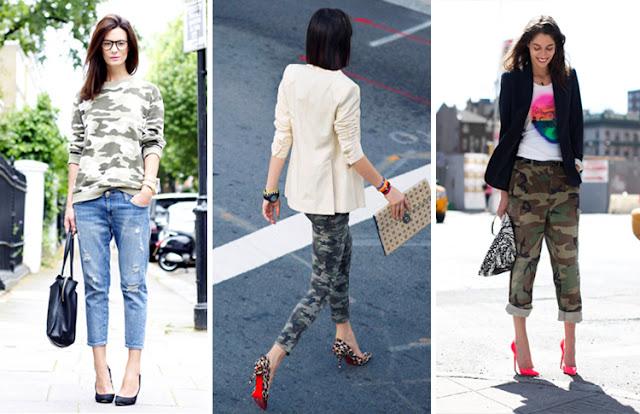 military trend, tendência camuflado, camouflage trend