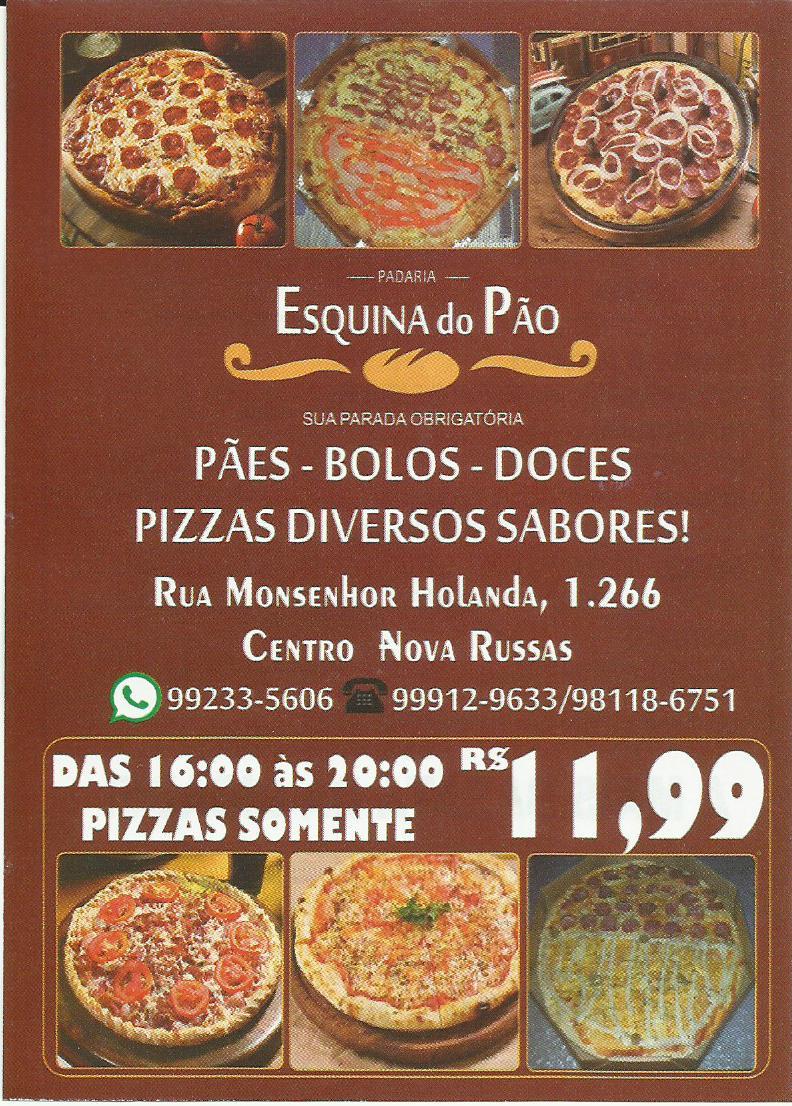 A MAIS SABOROSA PIZZA DA CIDADE